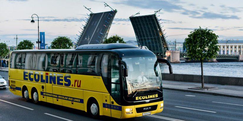 Ecolines: автобусы по Прибалтике от 5 евро